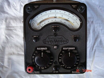 AVO MULTIMETER military Test Set  No1 in leather case+ leads and prods VGC