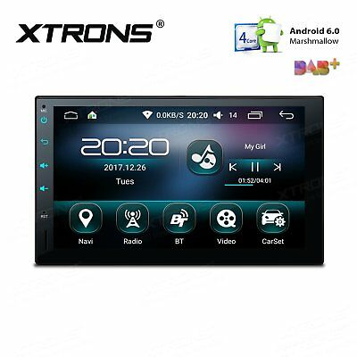 """XTRONS Android 5.1 Car Stereo GPS Navi Quad Core HD 7"""" 1024*600 Touch Screen 3G"""