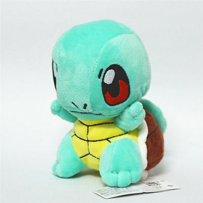 Pokemon Figure Standing Squirtle Stuffed Plush Doll Toy Christmas Gift