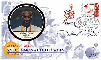 "1998 Commonwealth Games - Benham ""Special"" - Signed by DALTON GRANT"