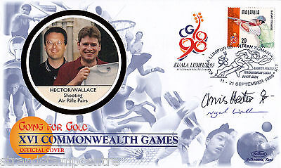 """1998 Commonwealth Games - Benham """"Special"""" - Signed by HECTOR & WALLACE"""