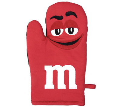 M/&M/'s World Blue Character Oven Mitt New with Tag
