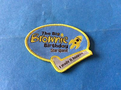 Girl Guide Badges - Brownie 100 Year Badges - I Made It Happen - Star Quest