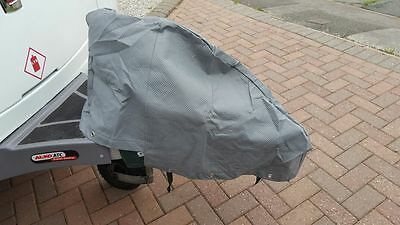 Water Resistant Universal Caravan A Frame Towing Hitch Cover inc Tie Down Rope