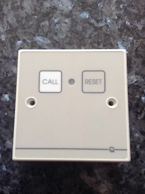 Quantec Nurse Call Point With Infra Red Receiver SPE0447000 Used
