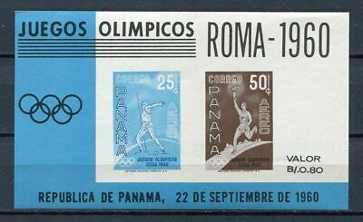 29756) PANAMA 1960 MNH** Nuovi** Olympic Games Rome S/S