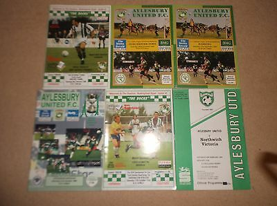 AYLESBURY UNITED v DORCHESTER TOWN 1994/95 FA TROPHY