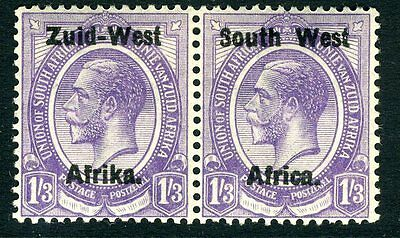 SOUTH WEST AFRICA-1923 1/3 Pale Violet  Sg 8 MOUNTED MINT V13125