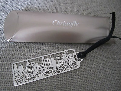 Christofle Marque-Pages New-York  Book Mark Page Marker