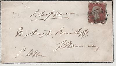 Isle Of Man - 1855 Douglas To Ramsey  Local Cover