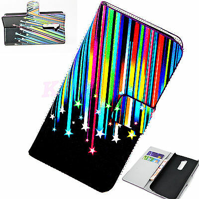 Magnetic Wallet Card Pouch Flip Leather Soft Phone Case Cover For LG Optimus G2