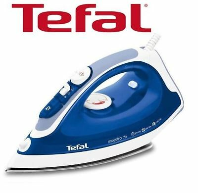 New Tefal Maestro Fv3770 2300W Steam Iron Stainless Steel Soleplate Anti Scale
