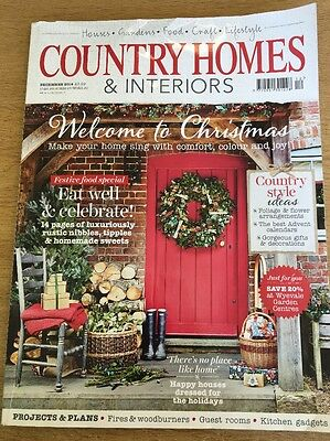 COUNTRY HOMES AND INTERIORS MAGAZINE - December 2014 Christmas