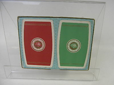 Two Vintage Packs of The Reliance Telephone Co. Ltd Playing Cards