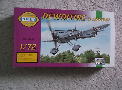 DEWOITINE D 500/501 1/72 scale kit