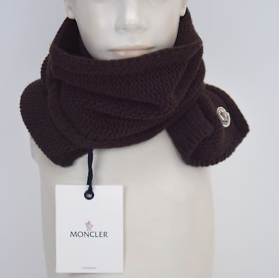Moncler Junior Boy Scarf Brown Code Paxa12 E0I72 20243