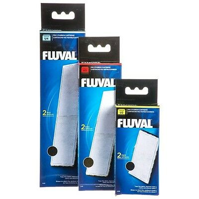 Fluval U2 U3 U4 Poly Clearmax Filter Cartridge Aquarium Filtration