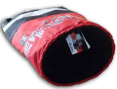 Catsline Fleece Lined Cat Bed Hideaway Tunnel and Hide for Cats & Kittens