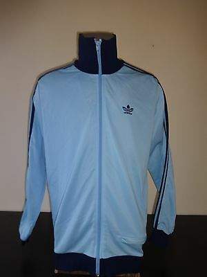 """vintage Adidas 1970s 1980s track top size 7/52 6'1"""" 186"""
