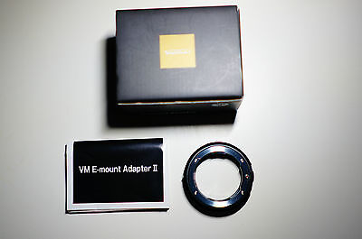 Voigtlander VM II Adapter For Leica M Mount to Sony E Mount