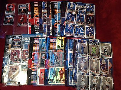 Topps Match Attax Lots Of Cards Limited Edition + Plastic Card Holders