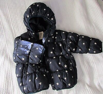 NEXT HOODED WINTER JACKET AGE 1.5 -2 YRS 92cm great condition