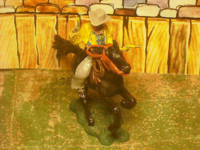 Soldatini Toy Soldiers Herald Sceriffo Far West Made in England  plastica 1:32