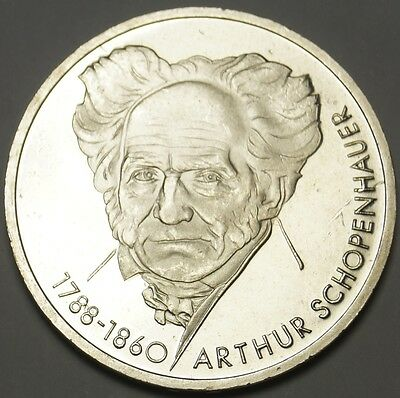 Germany – 10 Mark 1988 D, Silver – Proof