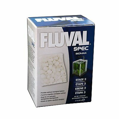 FLUVAL SPEC STAGE 3 BIOMAX AQUARIUM BIOLOGICAL MEDIA 60g A1378