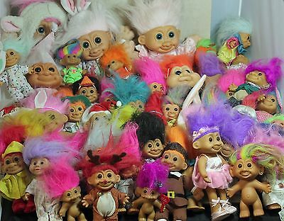 Troll Dolls 61 assorted