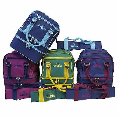 ACCLAIM Blyth Mini Triple Decker Three Tier Bowling Bowls Bag & 4 Bowls Carrier