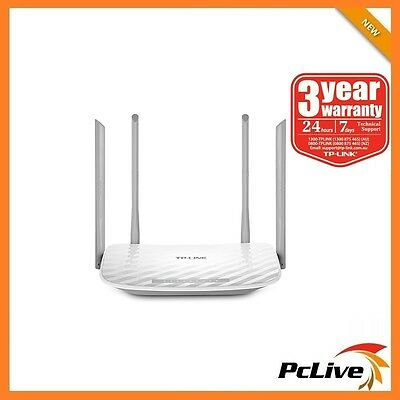 TP-Link Archer C25 900Mbps AC900 Wireless Dual Band Router Parental Control