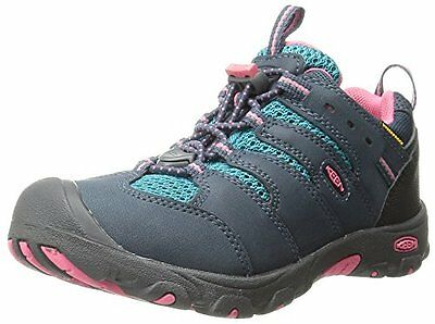 KEEN Koven Low WP Hiking Shoe Toddler/Little Kid, Midnight Navy/Capri Breeze, 8