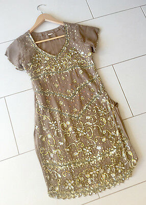Women's Salwar Kameez Indian Outfit with Beautiful Beads and Jewels - gorgeous!