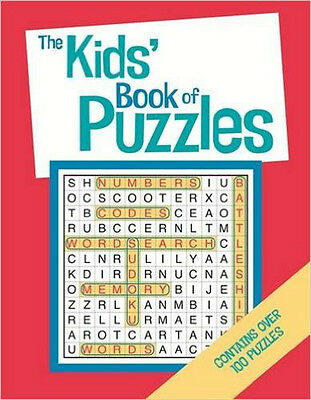 The Kids' Book Of Puzzles, New, Moore, Gareth Book