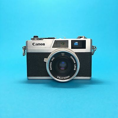 Canon Canonet 28 35mm Rangefinder Camera Kamera F2.8 40mm