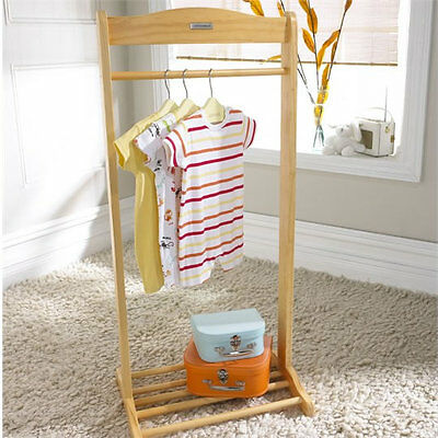 Brand new in box Izziwotnot solo hanging rail in natural with shoe rack