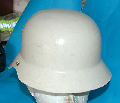 German Ww2 Type Civil Defence Luftschutz Helmet (W).