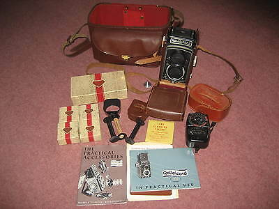 Rolleicord Va and lots of extras