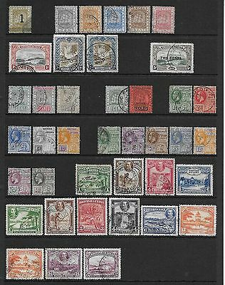 British Guiana  Collection Of Used 1881/1934 Between Sg 149 & 298  Good/fine