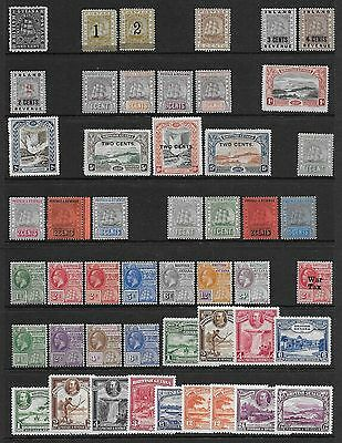 British Guiana  Collection Of Mint 1866/1934 Between Sg 85 & 298  Mainly Fine