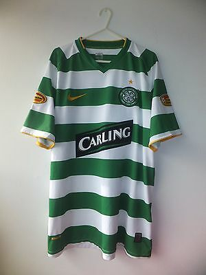 Celtic Home Shirt 2010. Large. Nike. Green Adults L Short Sleeves Football Top.