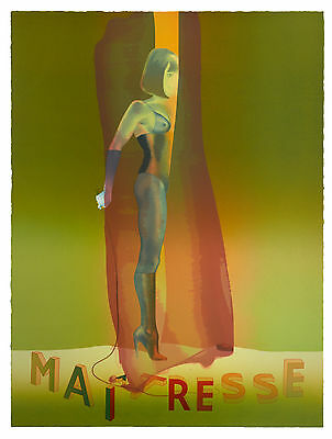 Allen Jones - Maitresse Folio Screenprint  II - POP ART GRAFIK - Luxus