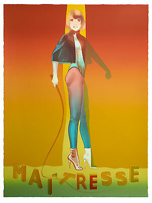 Allen Jones - Maitresse Folio Screenprint  I - POP ART GRAFIK - Luxus