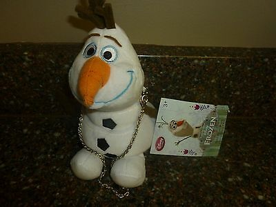 Disney Store Olaf Frozen Plush Purse with Wrist Chain NWT!