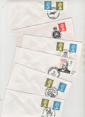 Military - 1995/7 Special Postmarks On 6 Covers