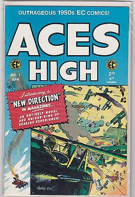 ACES HIGH # 1 & 2 in FINE to VERY FINE