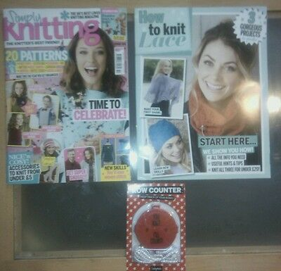 Simply Knitting Craft Magazine Issue 154 Dec 2016 + FREE GIFTS *NEW*