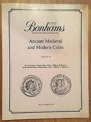 Bonhams Auction Ii Ancient Medieval And Modern Coins September 1980