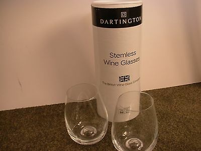 dartington steamless wine glasses